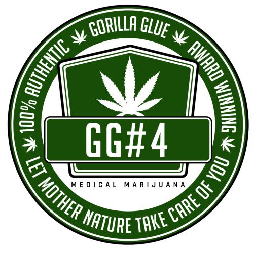 GG strains - Gorilla Glue #4