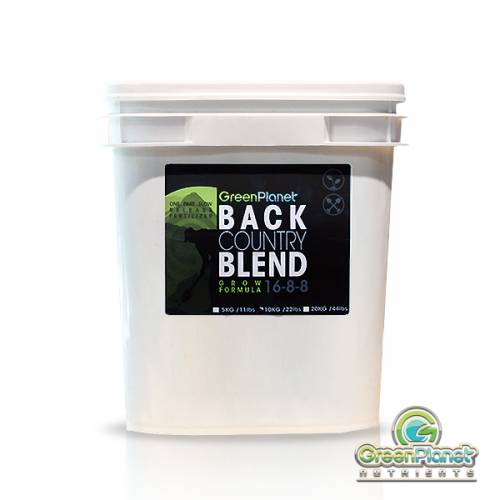 Backcountry Blend Grow Formula