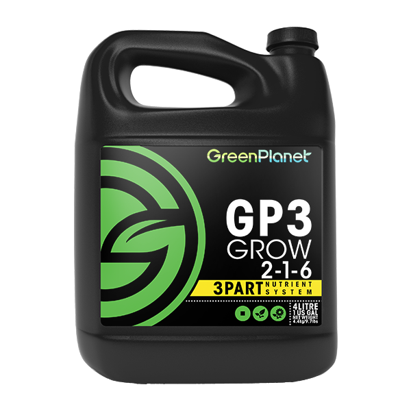 Green Planet Nutrients - GP3 Grow