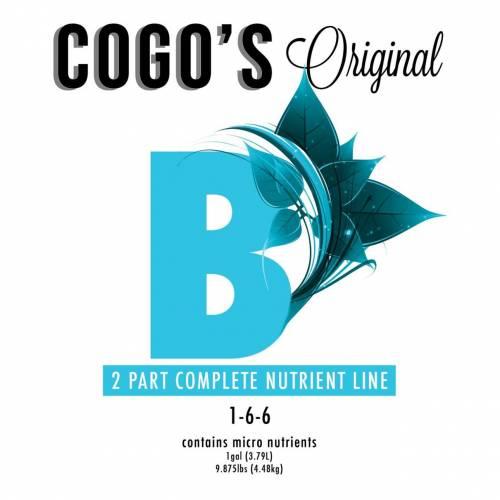 Cogo's Original Cannabis Formula Part B